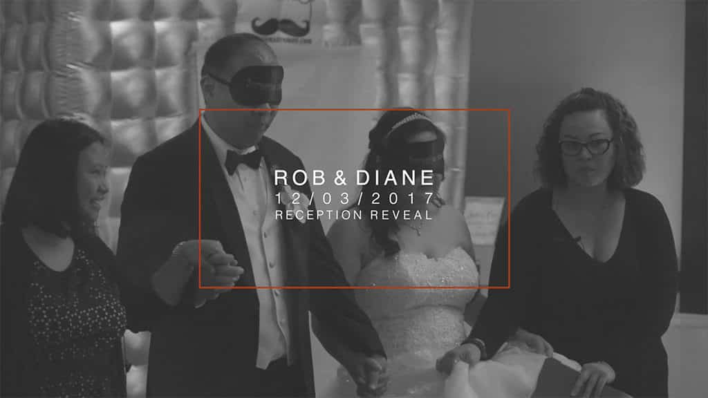 Rob & Diane's Wedding Reception Reveal